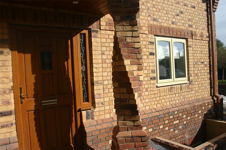 Spiral Brick Work